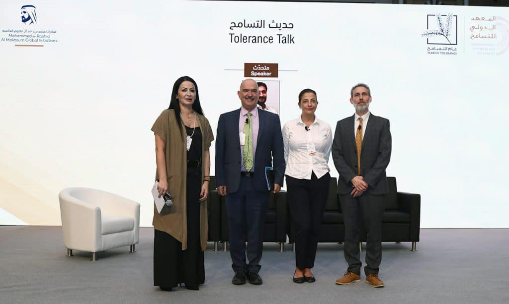 Panel members at the World Tolerance Summit 2019, Day One: Media and Culture Pillar (Tolerance Pillar – Culture)