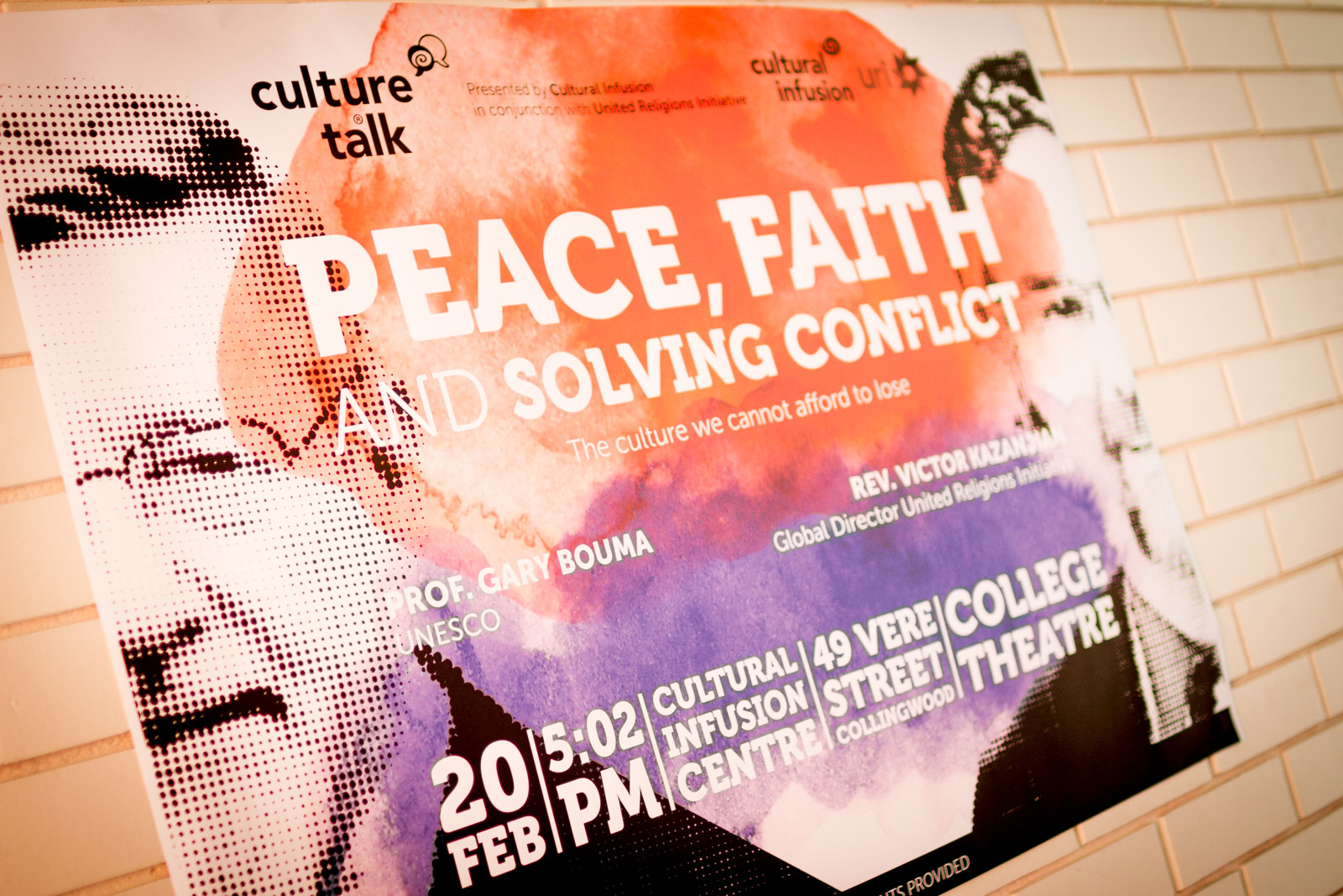 """Featured image for """"Culture Talk – Peace, Faith and Solving Conflict"""""""