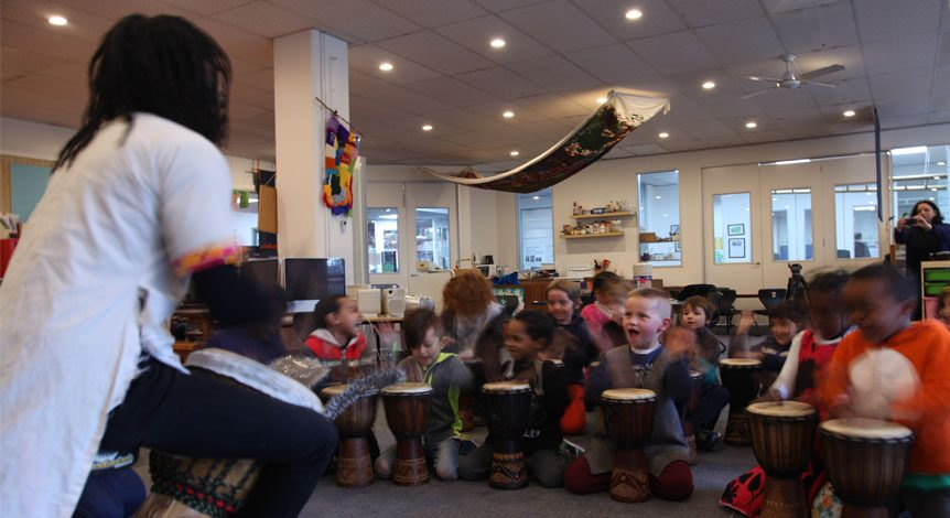 Tots rock with African drums (Multicultural workshops)
