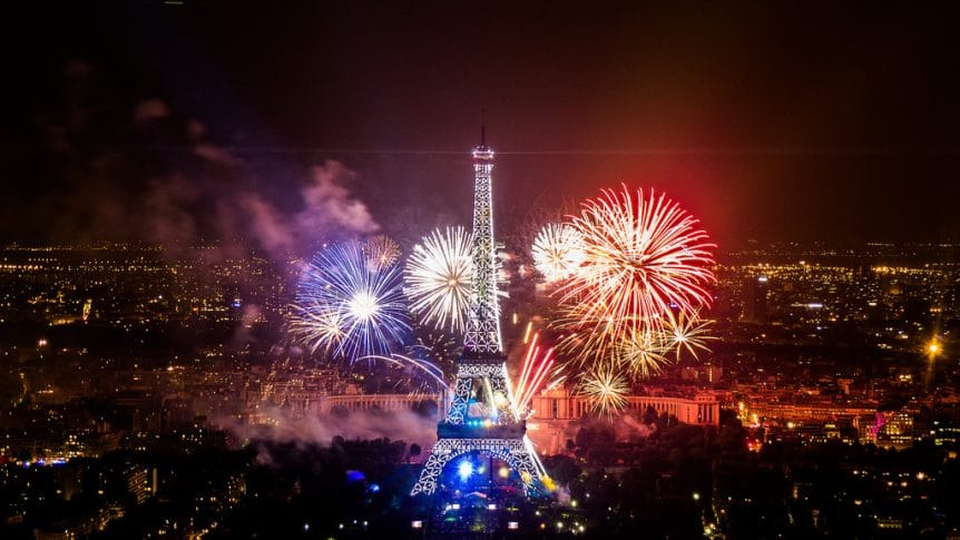 Bastille Day around Australia