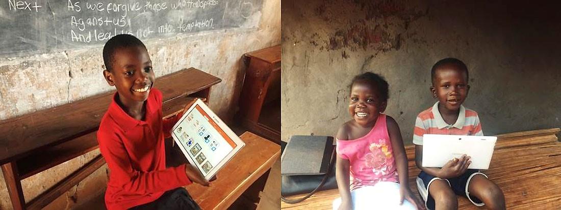"""Featured image for """"Joko visits Ugandan school children"""""""