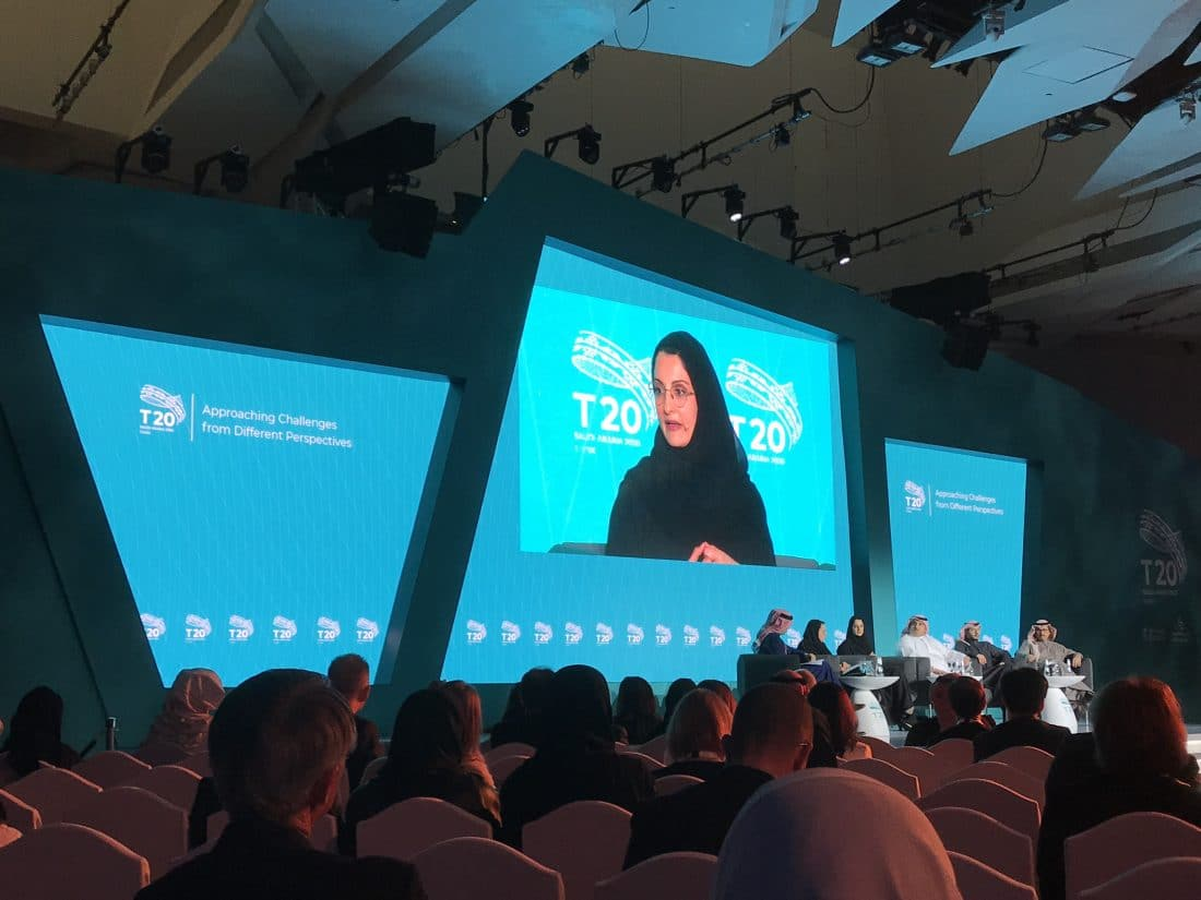 2020 Think20 (T20) Inception Conference - Riyadh, Saudi Arabia